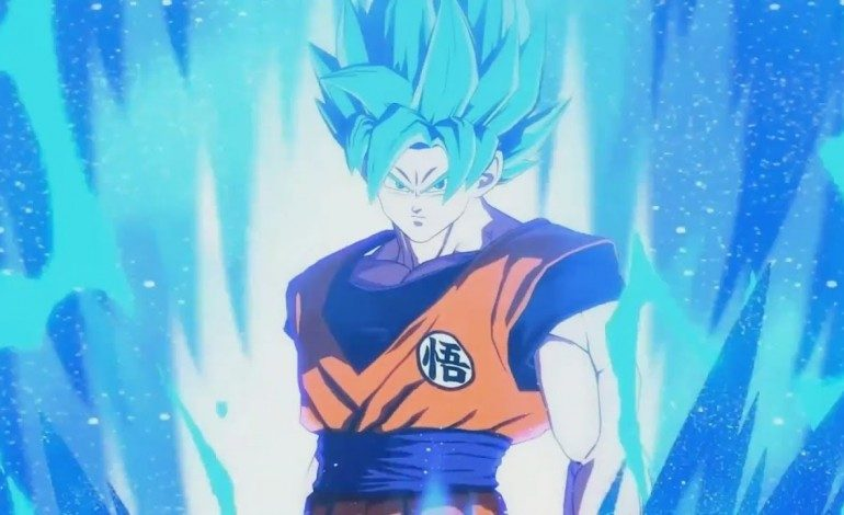 New Dragon Ball FighterZ Trailer Gives A Close Look At Super Saiyan Blue Goku