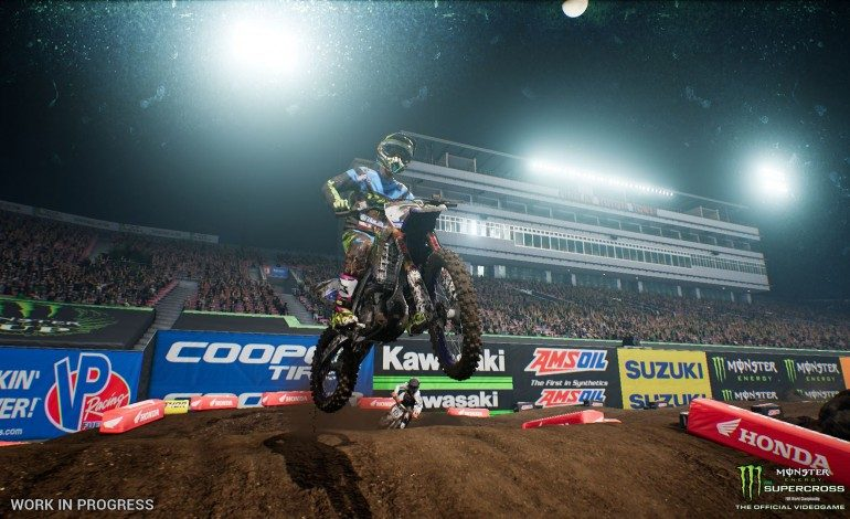 Building Tracks and Taking Out Other Racers in Monster Energy Supercross: The Official Videogame