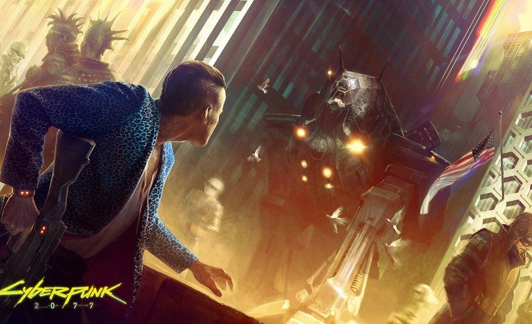Cyberpunk 2077's Official Twitter Sends Out Tweet for the First Time in Four Years