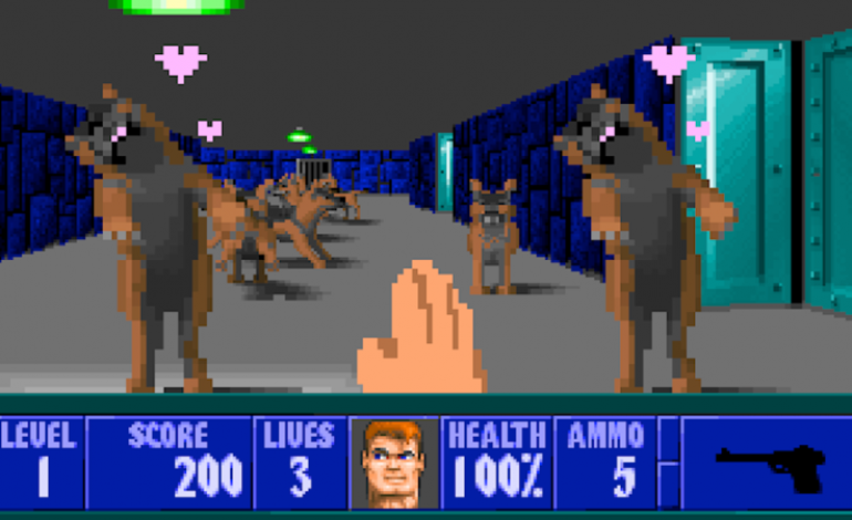 Woof3D Is A Wolfenstein 3D Mod That Lets You Pet All The Dogs In The Game