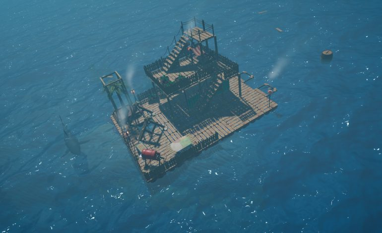 Survive The Perils Of An Endless Ocean In Raft