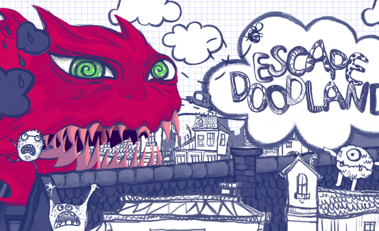 Escape Doodland Is An Indie Action-Adventure About Outrunning A Foul Beast