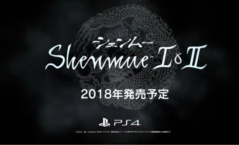 SEGA Makes Big Announcement With Shenmue I & II Port for PlayStation 4, Xbox One, and PC