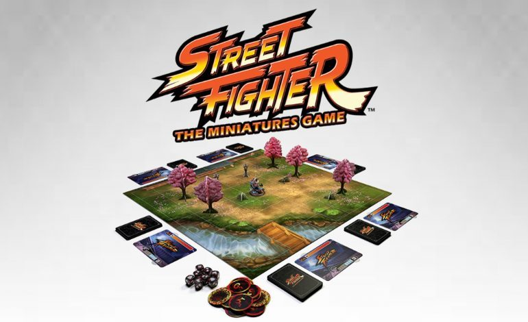 Street Fighter Board Game Coming Soon