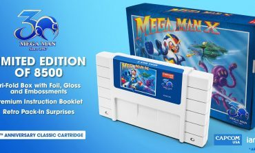 To Celebrate the 30th Anniversary of Megaman, Capcom Will Release Special Edition Cartridges for NES and SNES