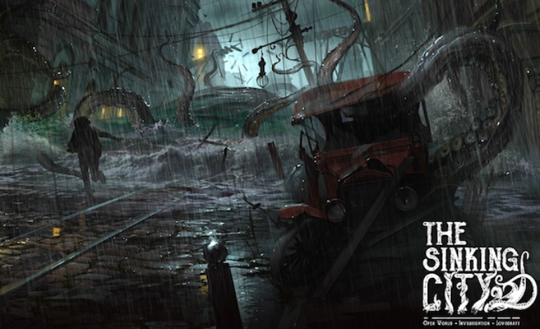 Image result for the sinking city