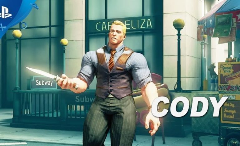 Cody Breaks Into Street Fighter V on June 26