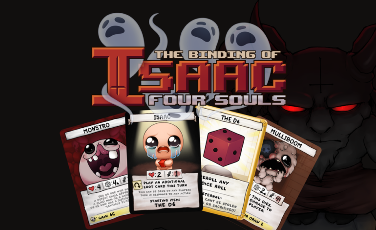 The Binding of Isaac Rebirths with New Card Game
