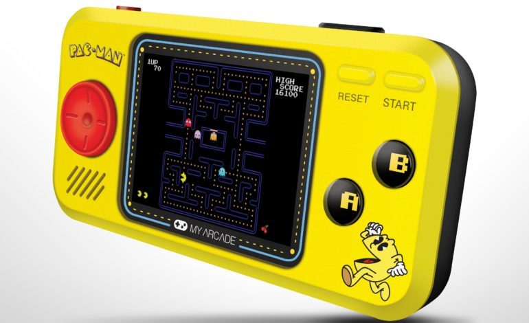 My Arcade Teams Up with Bandai Namco to Produce Namco Museum Mini Player and Pac-Man Pocket Player