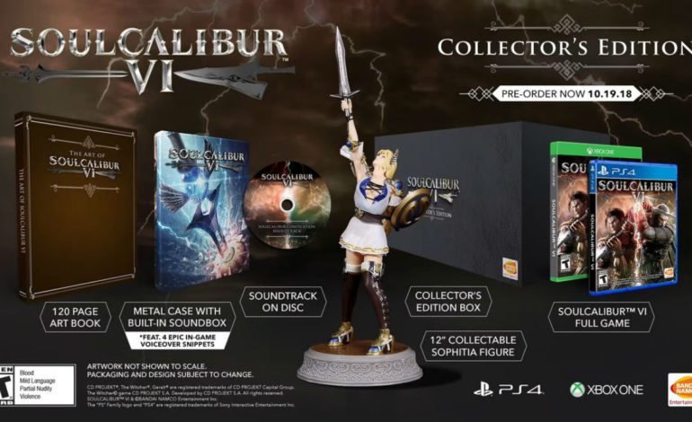 Soul Calibur VI Gets Official Release Date, Collectors Edition Announced