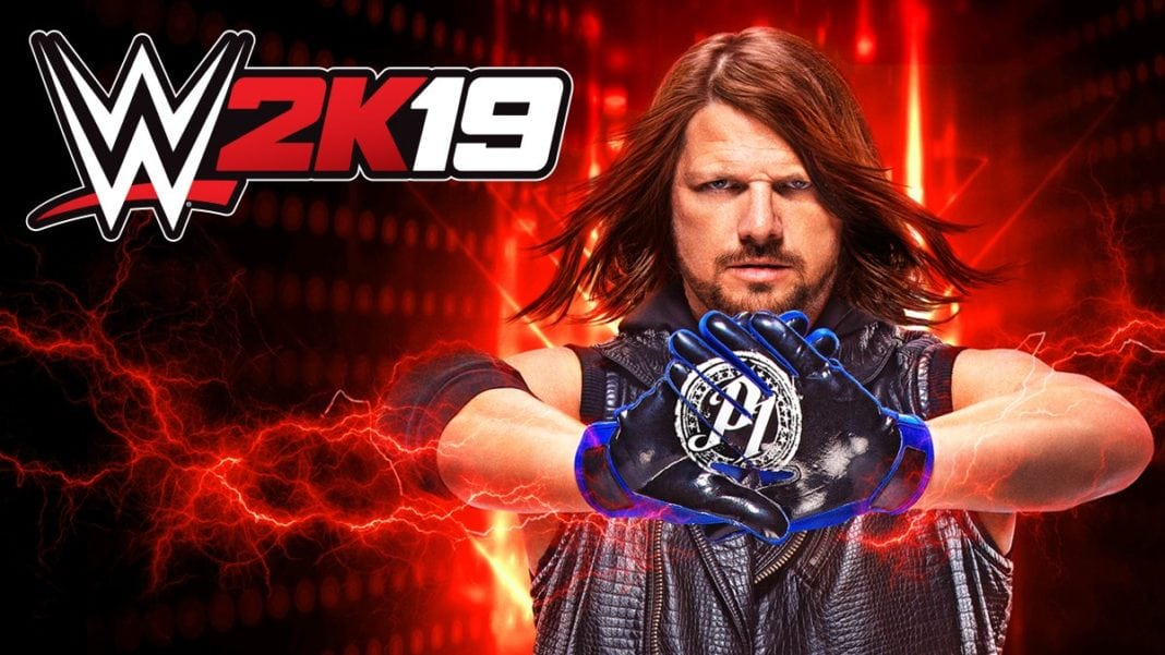 AJ Styles is the Official Cover Wrestler for WWE 2K19