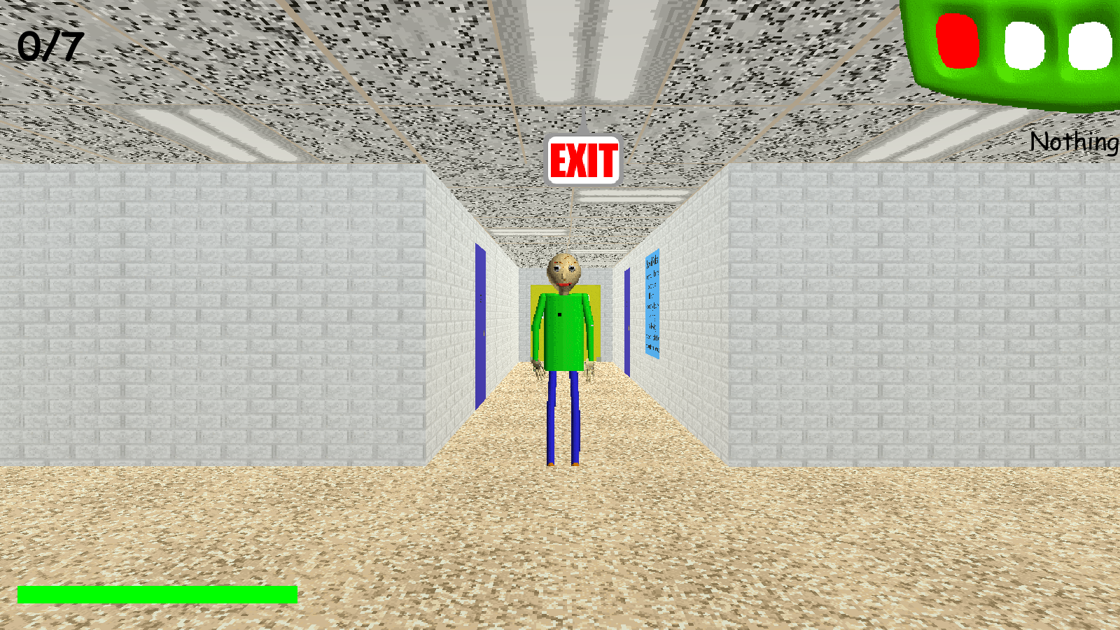 Learn Math And The Meaning Of Fear In Baldi's Basics