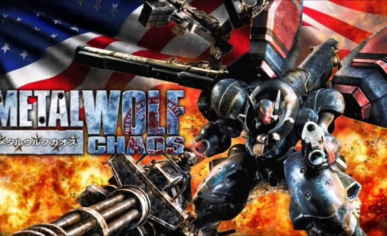 Metal Wolf Chaos Coming to Modern Consoles and PC