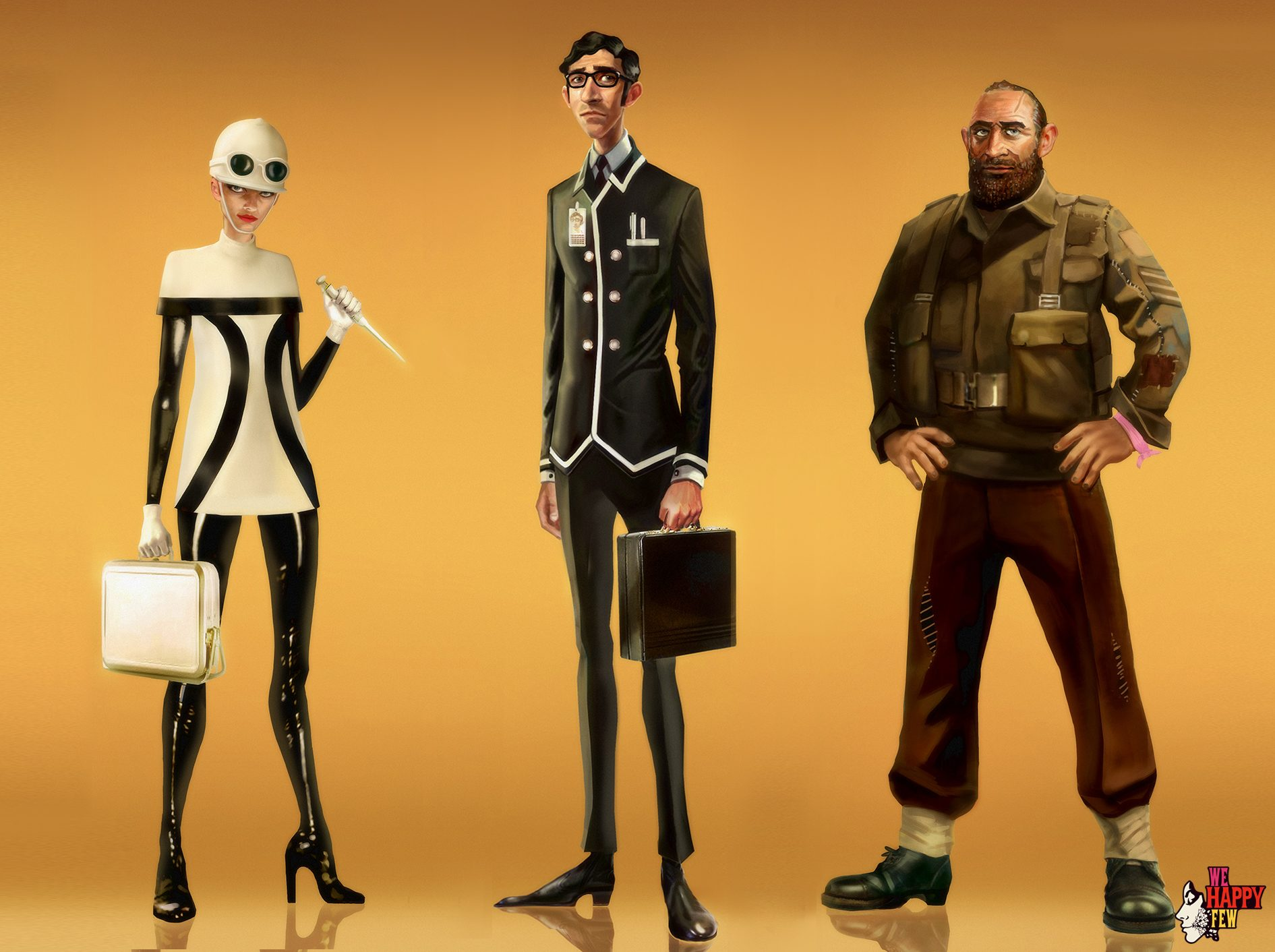 'We Happy Few' Introduces its Player Characters in a New Trailer