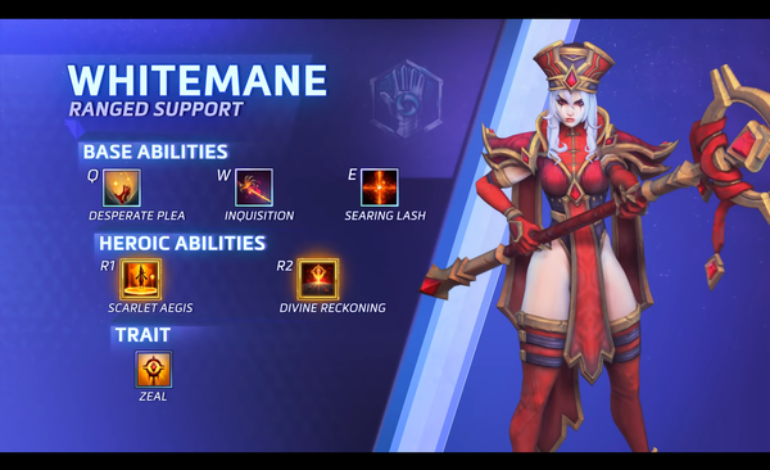 Heroes of the Storm adds High Inquisitor Whitemane to its Roster