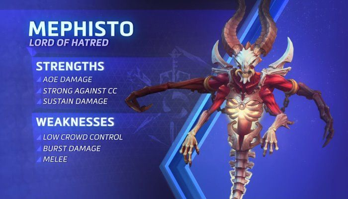 Blizzard Reveals Mephisto, The Lord of Hatred, as the Newest Hero in Heroes of the Storm