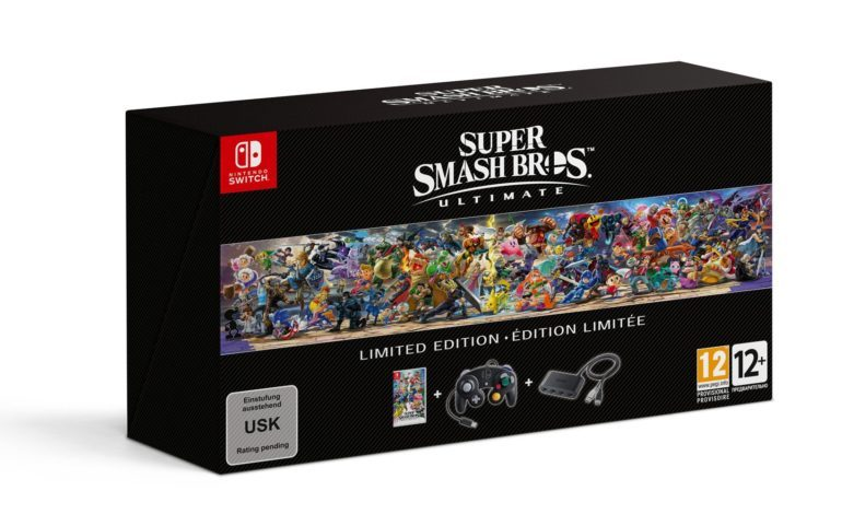Nintendo Announces Super Smash Bros. Ultimate Limited Edition