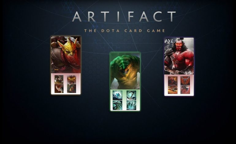 Valve's New Card Game Artifact Gets November Release Date