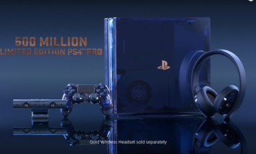 "Sony Announces New Limited Edition ""500 Million"" PS4 Pro"