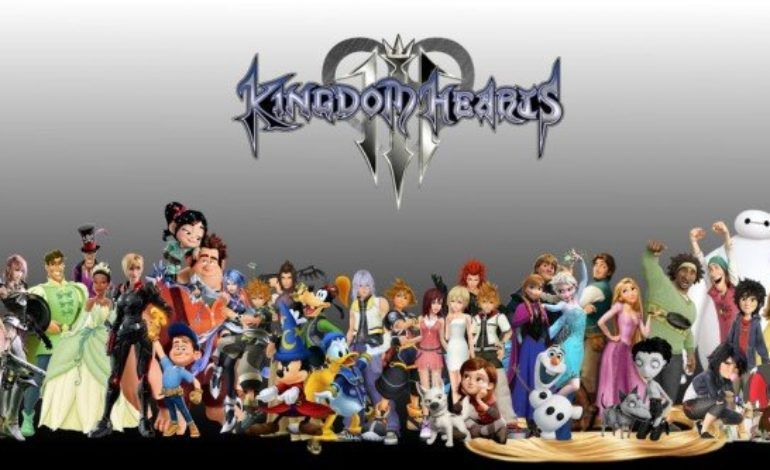 Massive Disney Characters Including Frozen,Toy Story, Big Hero 6 and Monsters, Inc. Appears in Kingdom Hearts III