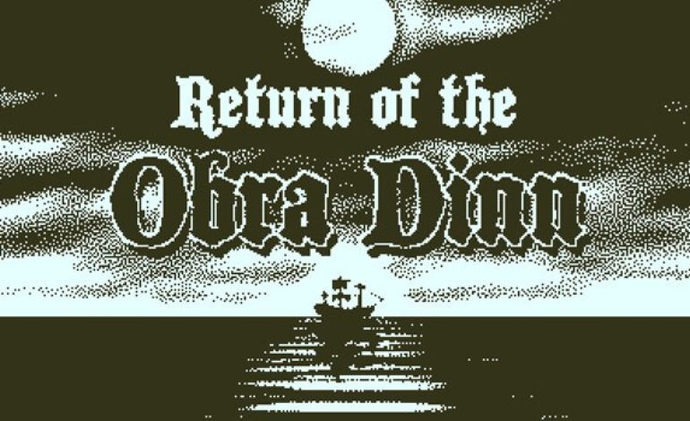 Return of the Obra Dinn Has Its Sights Set to Release Later This Month 8a8e48fac