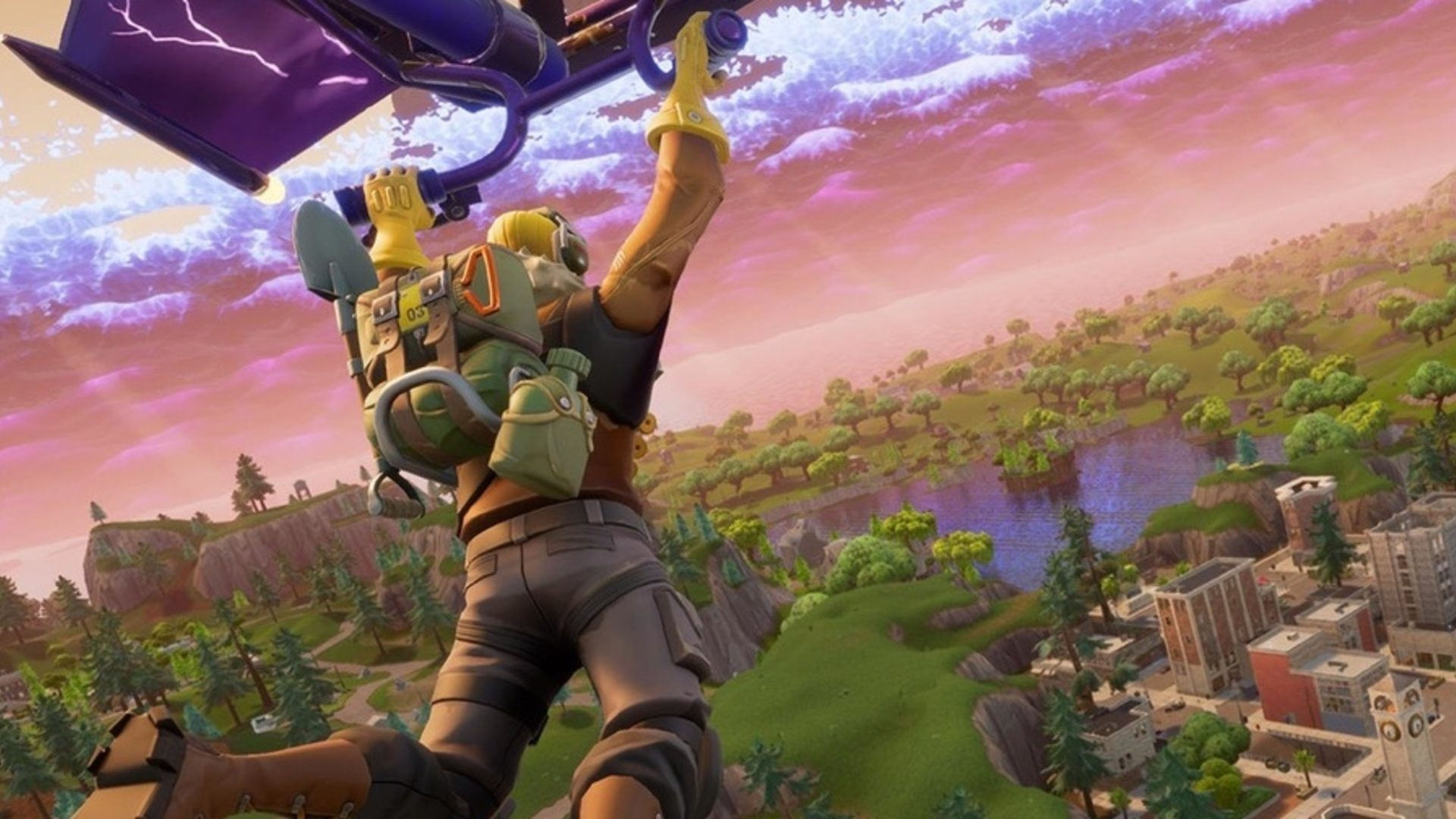Fortnite to Remove Glider Re-depoly