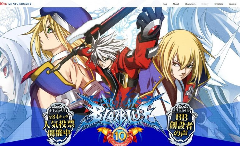 BlazBlue Creator Hints at New Title with Series' Tenth Anniversary Celebration