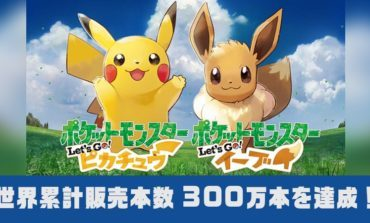 Pokemon Let's Go Games Sell Over 3 Million Units Worldwide