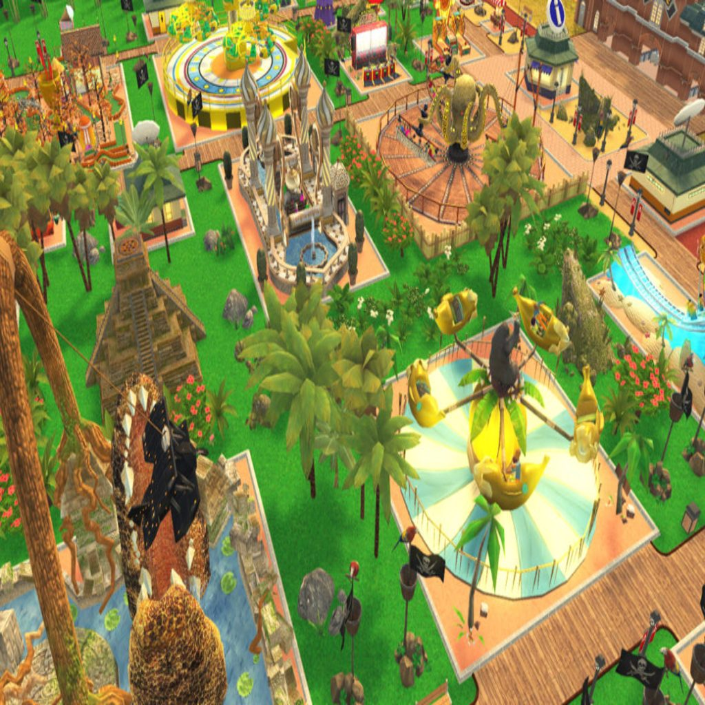 RollerCoaster Tycoon Adventures Coming Soon to the Switch - mxdwn Games