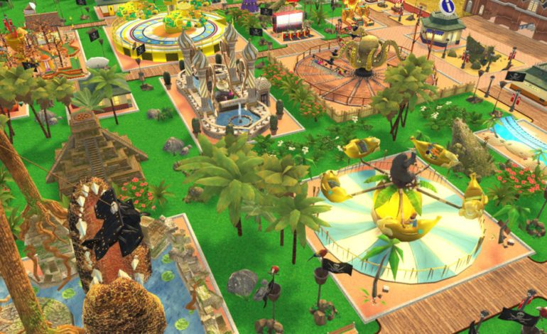 RollerCoaster Tycoon Adventures Coming Soon to the Switch