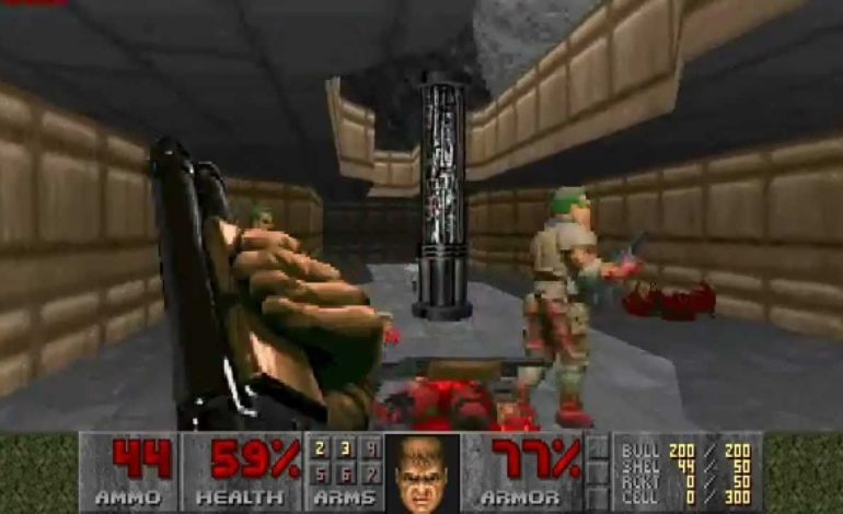 Programmer Creates Custom DOOM Levels with a Roomba