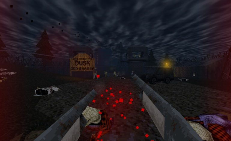 Retro FPS DUSK Out of Early Access on Steam