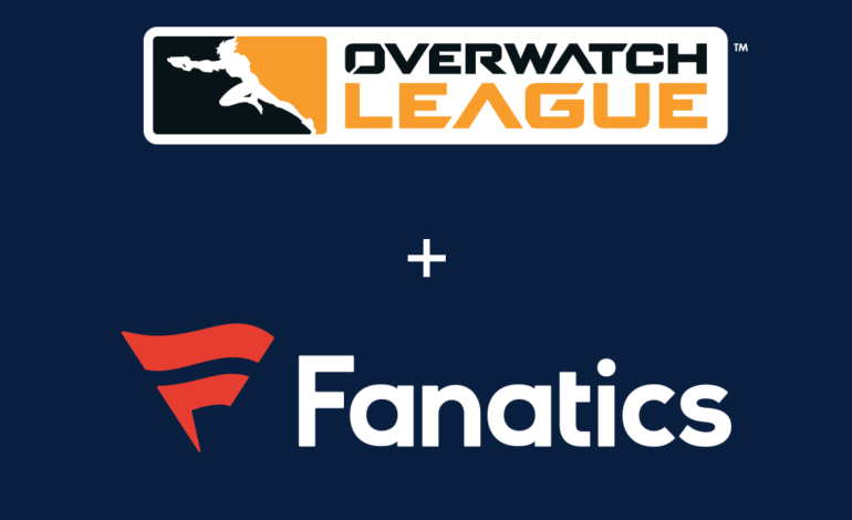 Overwatch League Partners with Fanatics for Official Retail Fan Gear