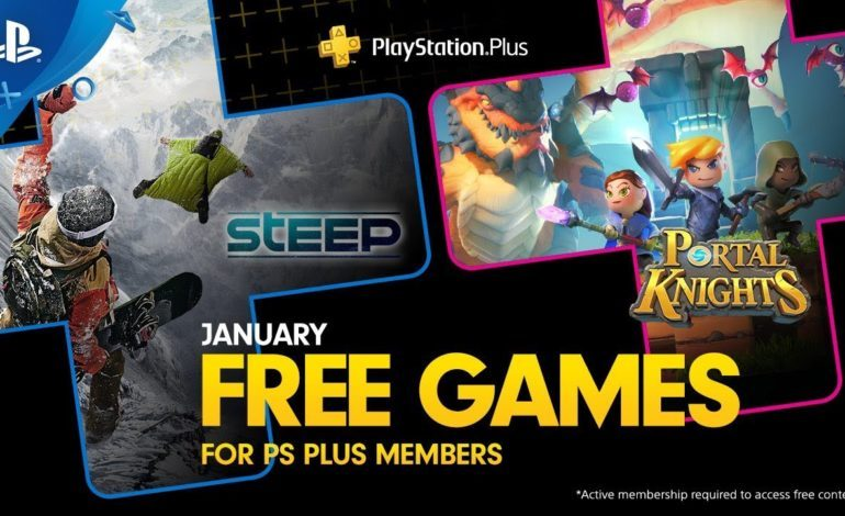 Steep & Portal Knights Highlight Free PlayStation Plus Games Lineup For January