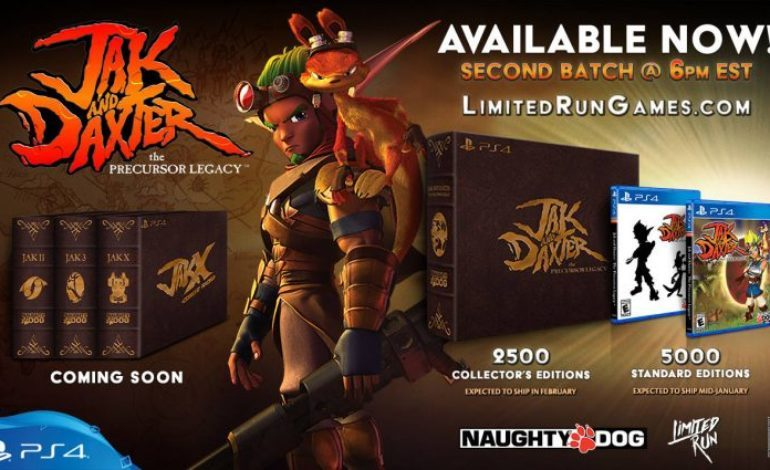Limited Run Games Announces Physical Standard and Collector Editions of the Jak and Daxter Series for PS4
