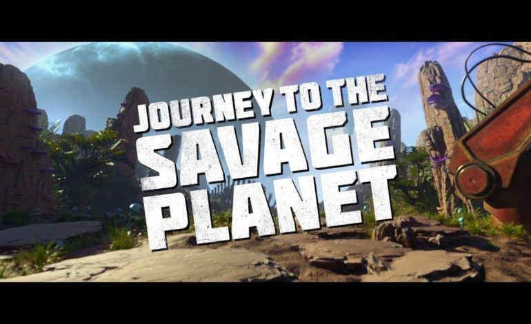 Journey to the Savage Planet Announced at The Game Awards 2018