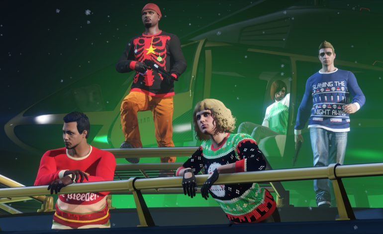GTA Online releases Festive Surprise 2018 with a Slew of Sign-In Rewards