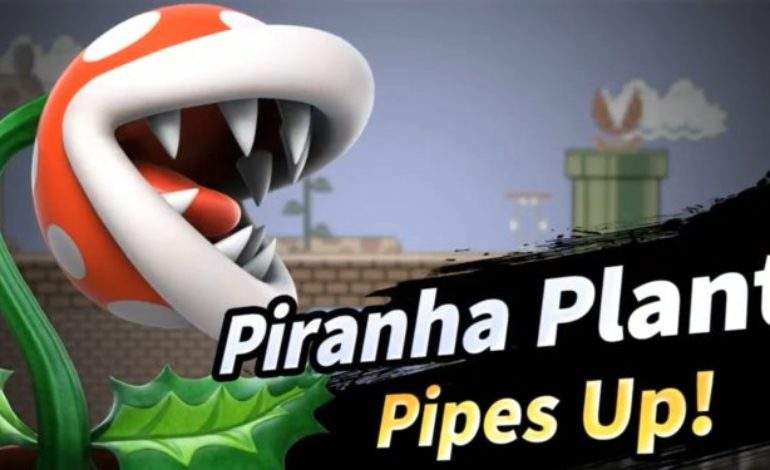 Piranha Plant Joins Super Smash Bros. Ultimate