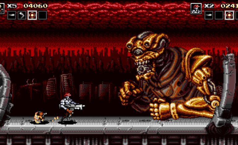 New Gameplay Footage Revealed for Upcoming Blazing Chrome