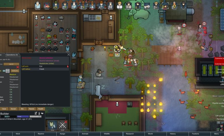 RimWorld Becomes Steam's Top User-Rated Game of 2018