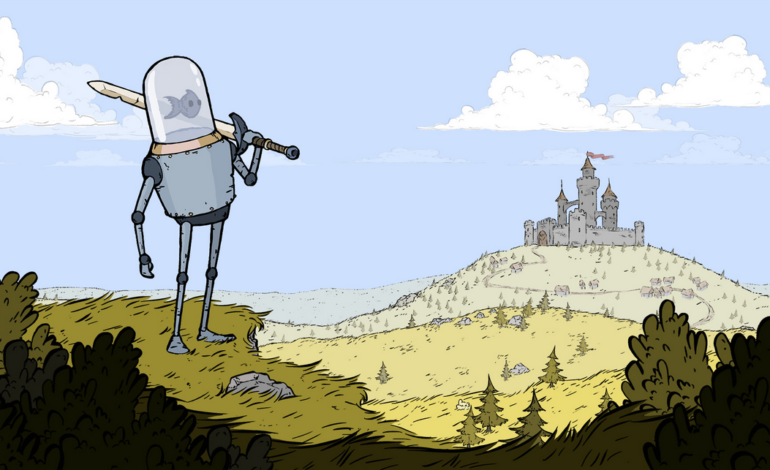 Feudal Alloy, The Game About a Fish Piloting a Medieval Robot, to Come out This Month