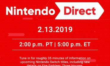 New Nintendo Direct Set For February 13