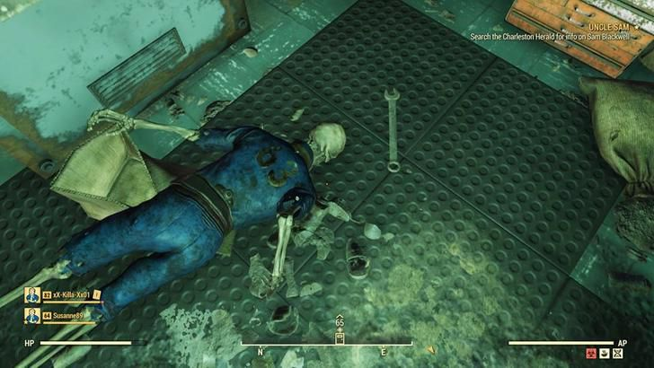 Fallout 76 Glitching Players into Sealed Vault - mxdwn Games