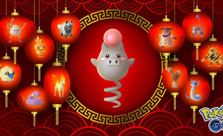 Pokémon Go Rings in the Lunar New Year
