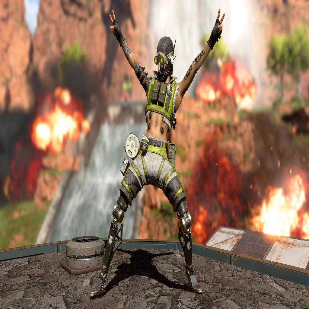 Apex Legend's First New Character, Octane, Announced - mxdwn