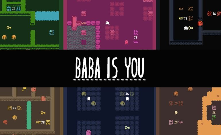 Baba is You is a Puzzle Game That Lets You Rewrite the Rules