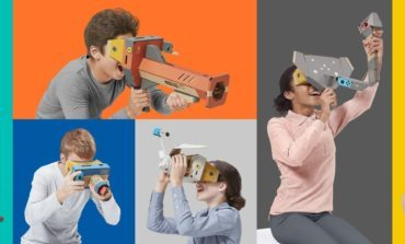 Nintendo Enters the Virtual Reality Space with New Nintendo Labo VR Kit