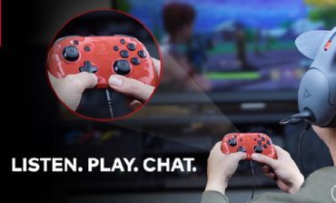 Vivox Introduces the New Nintendo Switch Controller that Supports Voice Chat in Game