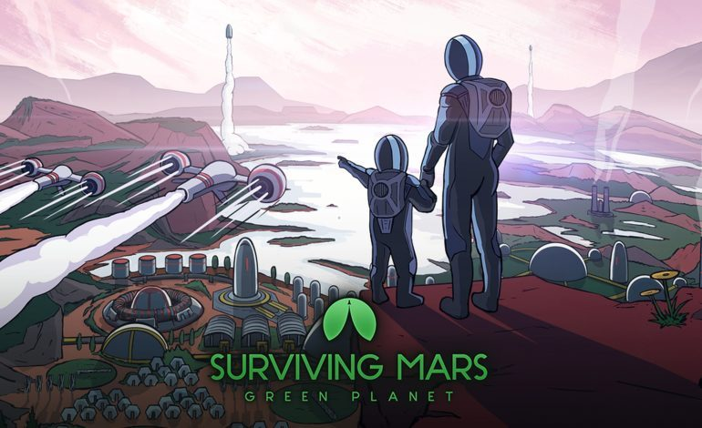 Surviving Mars Adds in Green Planet DLC