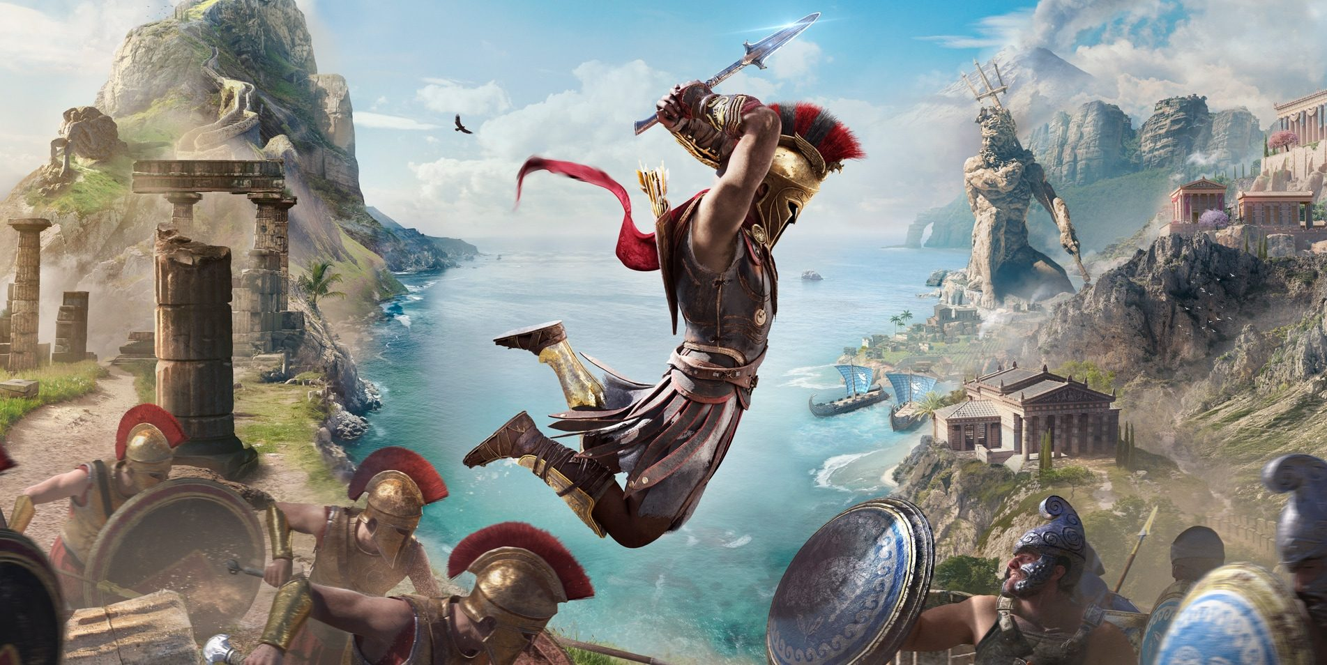 Ubisoft Launches Story Creator Mode for Assassin's Creed Odyssey During E3.